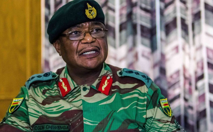 Suspected Military Coup in Zimbabwe