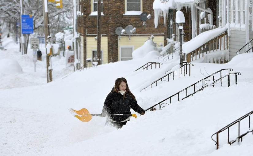 This City Just Got Buried Under Five Feet of Snow